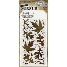 Stampers Anonimous Tim Holtz Autumn Layering Stencil (THS060)