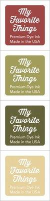 My Favorite Things Premium Dye Ink Cubes - Set 13 (ICUBE-13)