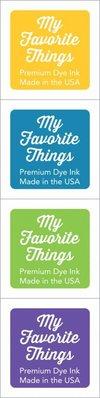 My Favorite Things Premium Dye Ink Cubes - Set 15 (ICUBE-15)