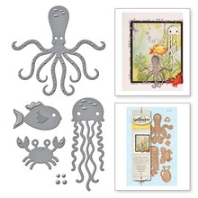 Spellbinders Sea Animals Die D-Lites (S3-257)