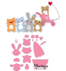 Marianne Design Collectable Eline's Baby Animals (COL1422)