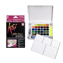 SAKURA Koi Watercolor Field Sketch Box Set - 30 Color Palette (XNCW-30N)