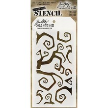 Stampers Anonimous Tim Holtz Twisted Layering Stencil (THS065)