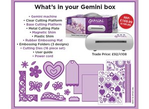 Crafter's Companion Gemini + €30,00 GOODIEBAG