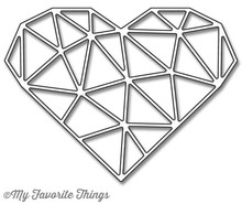 My Favorite Things Abstract Heart (MFT-1030)