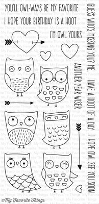 My Favorite Things I'm Owl Yours (CS-168)