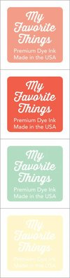 My Favorite Things Premium Dye Ink Cubes - Set 16 (ICUBE-16)