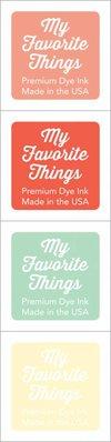 My Favorite Things Premium Dye Ink Cubes - Set 16 (ICUBE-16)
