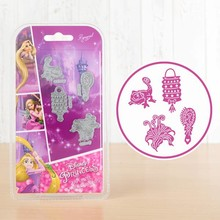 Disney 'Princess' Rapunzel Embellishments (DL085)