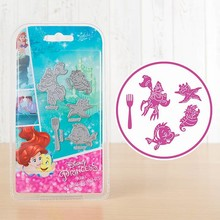 Disney 'Princess' Ariel Embellishments (DL088)