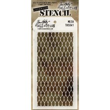 Stampers Anonimous Tim Holtz Mesh Layering Stencil (THS041)