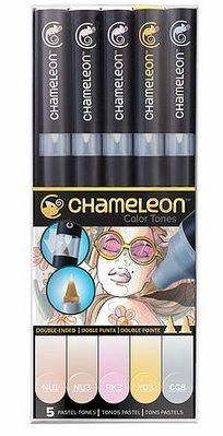 Chameleon 5-Pen Pastel Tones Set (CT0501)