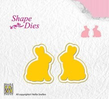 Nellie Snellen Shape Die Rabbits (SD122)