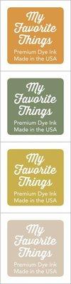 My Favorite Things Premium Dye Ink Cubes - Set 05 (ICUBE-05)