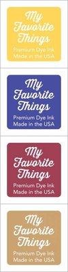 My Favorite Things Premium Dye Ink Cubes - Set 19 (ICUBE-19)