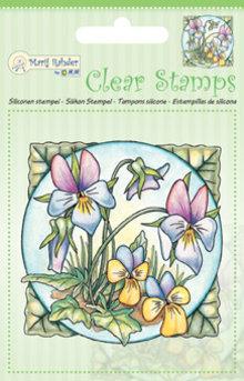 Marij Rahder Clear Stamps Violets (9.0030)