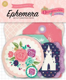 Echo Park Once Upon a Time Princess Ephemera (OUG122024)