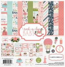 Carta Bella Rock-a-Bye Girl 12x12 Inch Collection Kit (CBRBG63016)