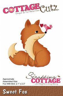 Scrapping Cottage CottageCutz Sweet Fox (CC-268)