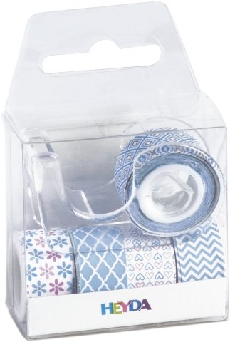 Heyda deco tape baby blauw 203584572 - Deco wc blauw ...
