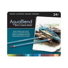 Spectrum Noir AquaBlend Aquarel Potloden Doos a 24 Stuks - Naturals (SPECAB-NAT24)