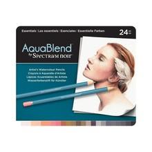 Spectrum Noir AquaBlend Aquarel Potloden Doos a 24 Stuks - Essentials (SPECAB-ESS24)