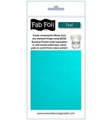 WOW! Teal Fabulous Foil (W216-BLG30)