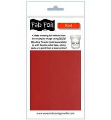 WOW! Red Fabulous Foil (W216-RE80)