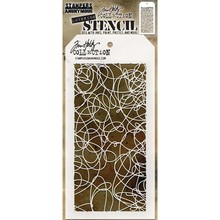 Stampers Anonimous Tim Holtz Doodle Layering Stencil (THS072)