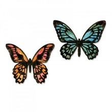 Sizzix Thinlits Alterations Detailed Butterflies (661802)