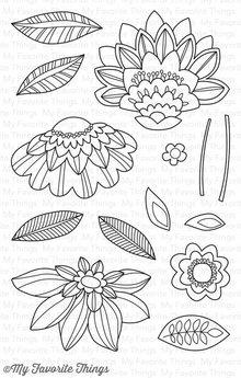 My Favorite Things Fancy Flowers (CS-160)