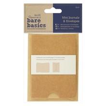 Papermania Bare Basics Mini Journals & Envelopes (2 pcs) (PMA 174362)