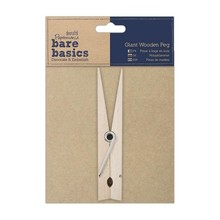 Papermania Bare Basics Giant Wooden Peg (PMA 174605)