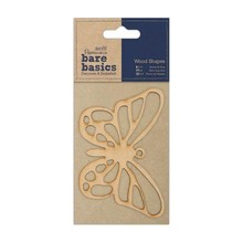 Papermania Bare Basics Wooden Shapes - Butterfly (PMA 174606)