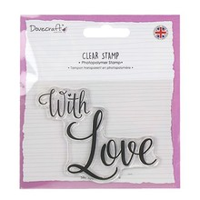 Dovecraft Clear Stamp With Love (DCSTP107)
