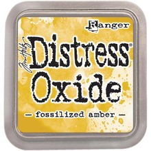 Ranger Distress Oxide Ink Pad Fossilized Amber (TDO55983)