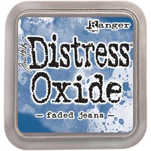 Ranger Distress Oxide Ink Pad Faded Jeans (TDO55945)