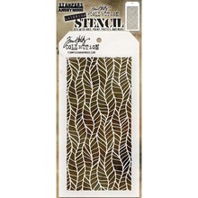 Stampers Anonimous Tim Holtz Feather Layering Stencil (THS079)