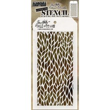 Stampers Anonimous Tim Holtz Leafy Layering Stencil (THS078)