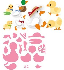 Marianne Design Collectable Eline's Duck Family (COL1428)