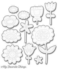 My Favorite Things Springtime Blooms (MFT-1079)