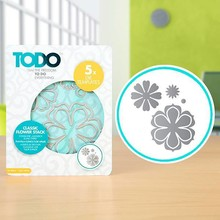 TODO Die Template Set Classic Flower Stack (383641)