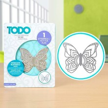 TODO Hot Foil Stamp Intricate Butterfly Small (383629)