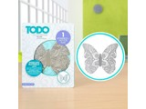 TODO Hot Foil Stamp Intricate Butterfly Large (383628)