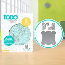 TODO Die Template Set Fronds & Flourishes (383650)