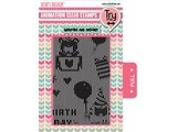 Uchi's Design Animation Clear Stamp Happy Birthday (AS1)