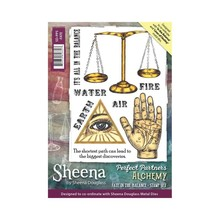 Sheena Alchemy Fate In The Balance Unmounted Rubber Stamp Set (SD-PPS-FATE)