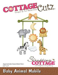 Scrapping Cottage CottageCutz Baby Animal Mobile (CC-273)