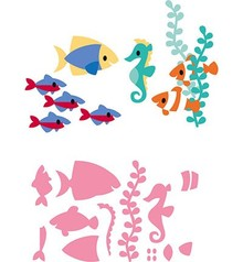 Marianne Design Collectable Eline's Tropical Fish (COL1431)
