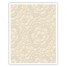 Sizzix Texture Fades Lace Embossing Folder (661824)